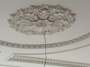 Plaster Cornice repairs to ceiling Glasgow