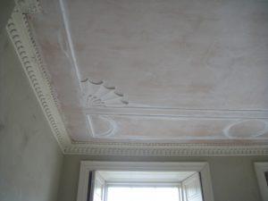 Restoring Adams style ceiling 16