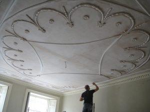 Restoring Adams style ceiling 20