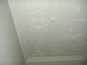 Restoring Adams style ceiling 3