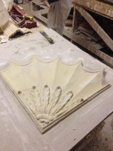 Restoring Adams style ceiling 7