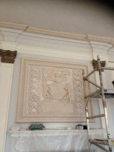 Killochan Castle plaster repairs 8