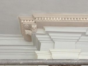 Killochan Castle plaster repairs 6