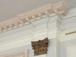 Killochan Castle plaster repairs 5