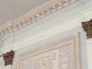 Killochan Castle plaster repairs 4