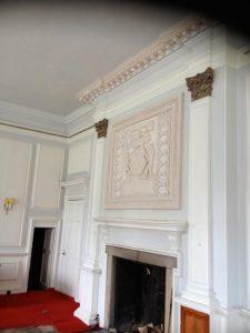 Killochan Castle plaster repairs 3