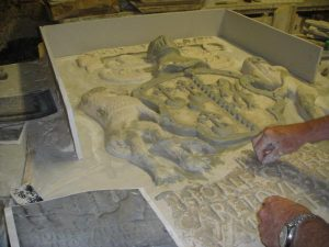 Killochan Castle plaster repairs 15
