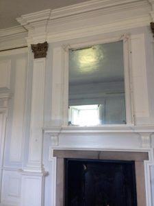 Killochan Castle plaster repairs 13