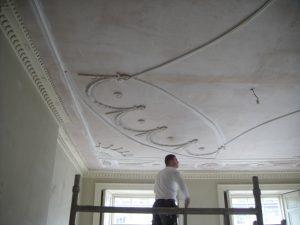 Restoring Adams style ceiling 17
