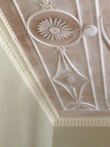 Restoring Adams style ceiling 19