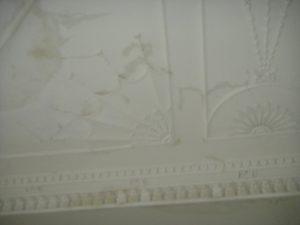 Restoring Adams style ceiling 2