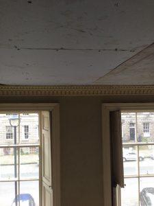 Restoring Adams style ceiling 5
